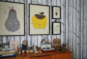 De apple papple pirum parum aan de muur!